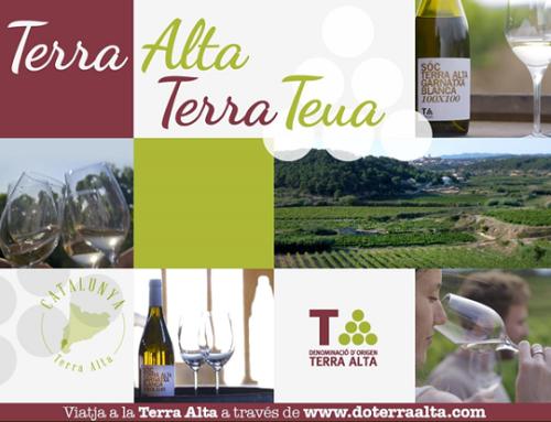 La Pequeña D.O. Terra Alta estrena una nueva campaña de comunicación destinada a aumentar la notoriedad de los vinos