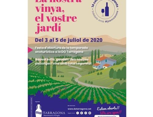La Pequeña DO Tarragona inaugura la temporada enoturística el primer fin de semana de julio con la propuesta 'Nuestra viña, su patio trasero'