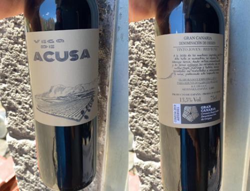 Vega de Acusa el vino de la Pequeña DO Gran Canaria que escapó del fuego