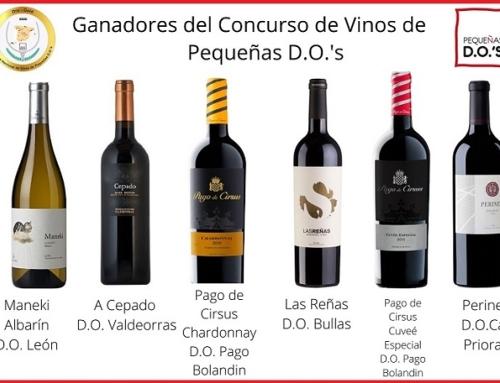Consigue los vinos premiados en la 4ª edición del Concurso Nacional de Vinos de Pequeñas D.O.'s