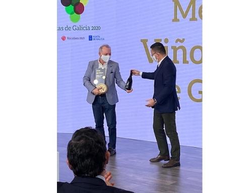 Prómine Singular de la Pequeña D.O. Ribeira Sacra elegido mejor vino tinto de Galicia