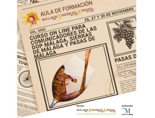 Ayer comenzó el Curso de Comunicadores de las Pequeñas D.O.'s Málaga y Sierras de Málaga
