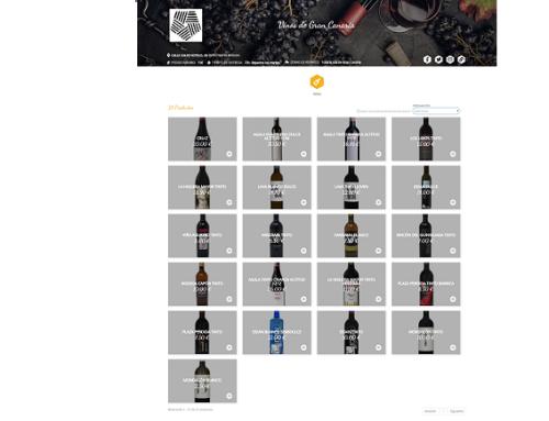 21 vinos de la Pequeña DO Gran Canaria están disponibles en la plataforma de venta de Gran Canaria Me Gusta