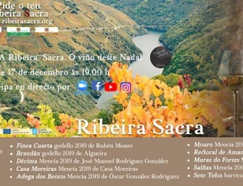 La Pequeña DO Ribeira Sacra consigue 19 GRAN ORO, 161 OROs y 44 PLATAS en la Guía de Vinos de Galicia 2021 y presenta una cata virtual de Navidad