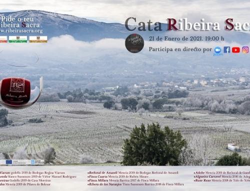 Catas online de los vinos de la Pequeña D.O. Ribeira Sacra para empezar el 2021