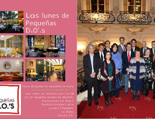 El restaurante Atocha 107 y el Casino de Madrid acogen hoy sendos eventos de nuestras Pequeñas D.O.'s