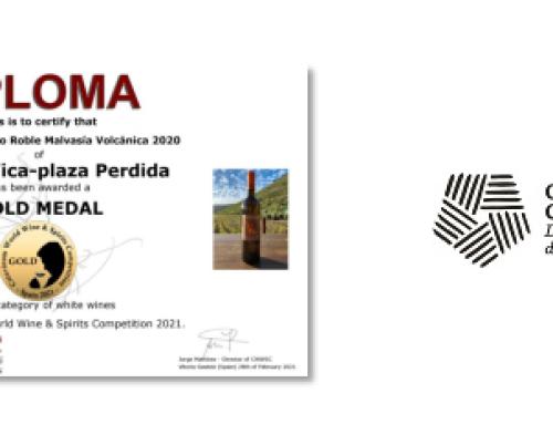 Dos vinos de la Pequeña DO Gran Canaria, Viña La Vica y Plaza Perdida, premiados en el Certamen Catavinum World Wine & Spirtis Competition