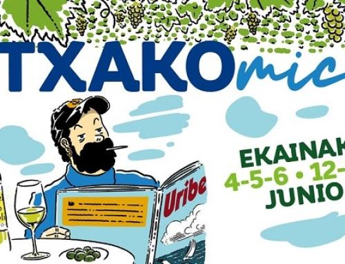 La Pequeña DO Txakoli de Bizkaia presenta en el Museo Vasco la historia del Txakoli en comic