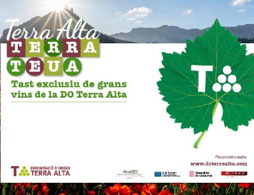 Hoy la Pequeña D.O. Terra Alta retoma las catas virtuales en Barcelona tras más de un año parados por la pandemia