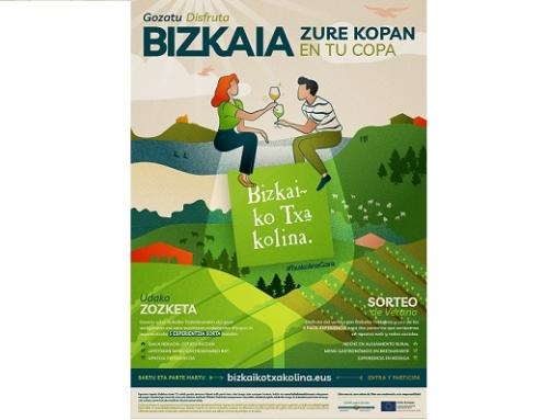 La Pequeña DO Txakoli de Bizkaia lanza una campaña para fomentar el consumo de Txakoli en el canal HORECA