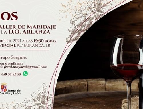 La Pequeña DO Arlanza organiza hoy un taller maridaje con los vinos de la DO en Burgos