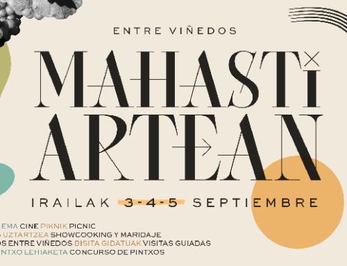 La Pequeña DO Txakoli de Bizkaia organiza la 2ª edición del festival Mahasti Artean que se celebrará en Urdaibai el primer fin de semana de septiembre