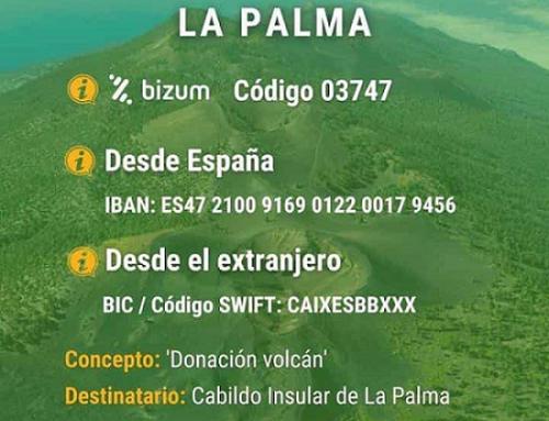 Apoyo solidario para la isla de La Palma
