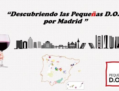 """""""Descubriendo las Pequeñas D.O.'s por Madrid"""", un evento para presentar las pequeñas regiones vinícolas españolas a la hostelería de Madrid"""